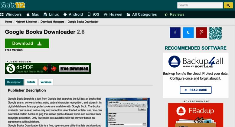 Access google-books-downloader soft112 com  Google Books