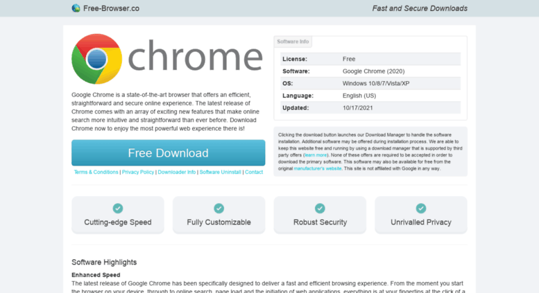 Google Chrome 7 Download