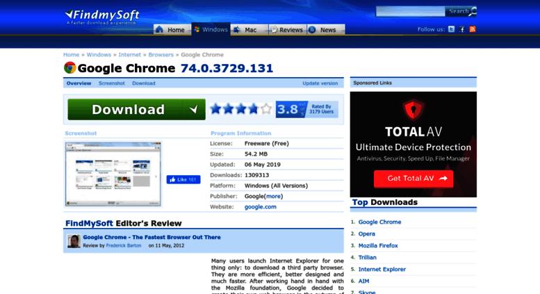 Access Google Chrome Findmysoft Com Download Google