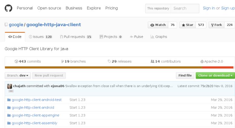 Access google-http-java-client googlecode com  GitHub - google