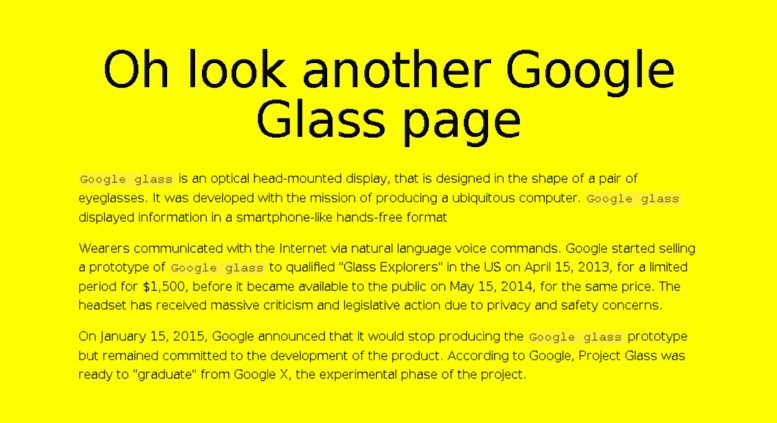 2204b0bae0b Access googleglass.my. Not so official Google Glass page