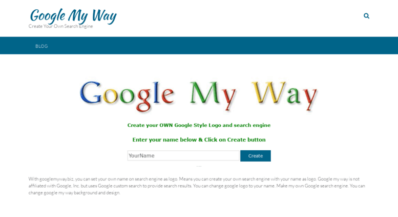 access googlemyway biz google my way design background with your