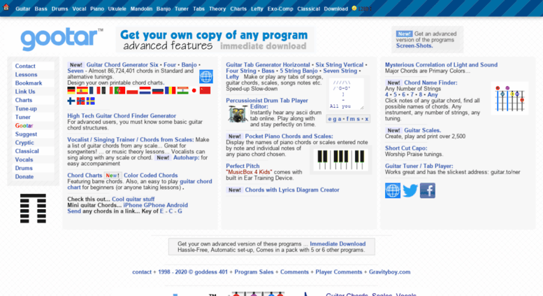 Chord Generator Piano