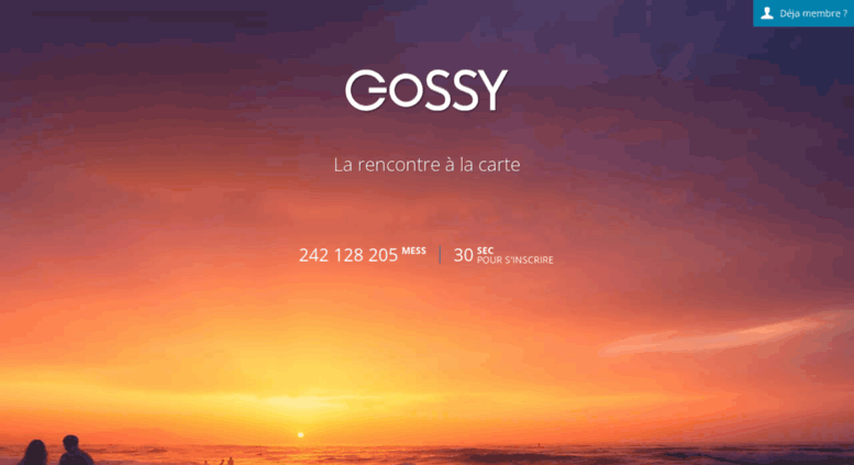 Gossy dating site