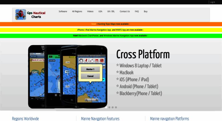 Access gpsnauticalcharts com  Marine Navigation App | Nautical