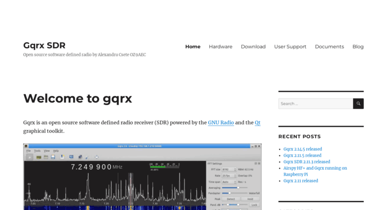 Access gqrx dk  Gqrx SDR – Open source software defined radio by