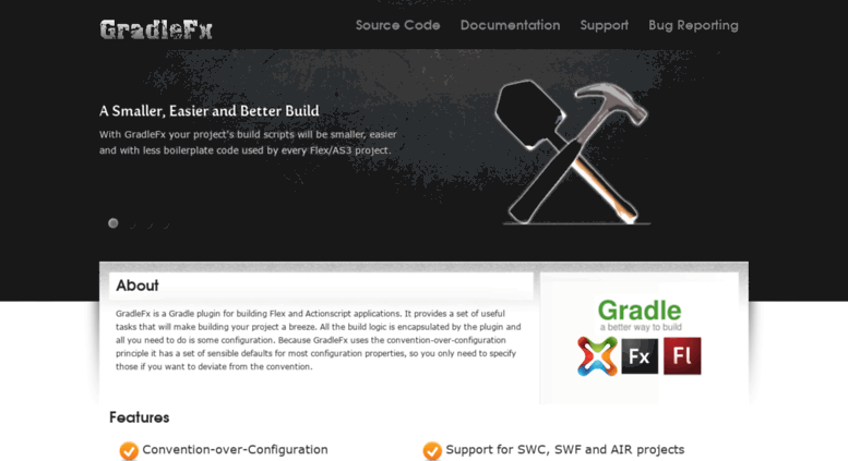 Access gradlefx org  GradleFx | A Gradle Flex Plugin