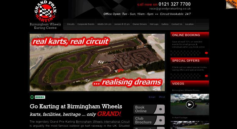 Go Karting West Midlands >> Access Grandprixkarting Co Uk Go Karting Birmingham 1