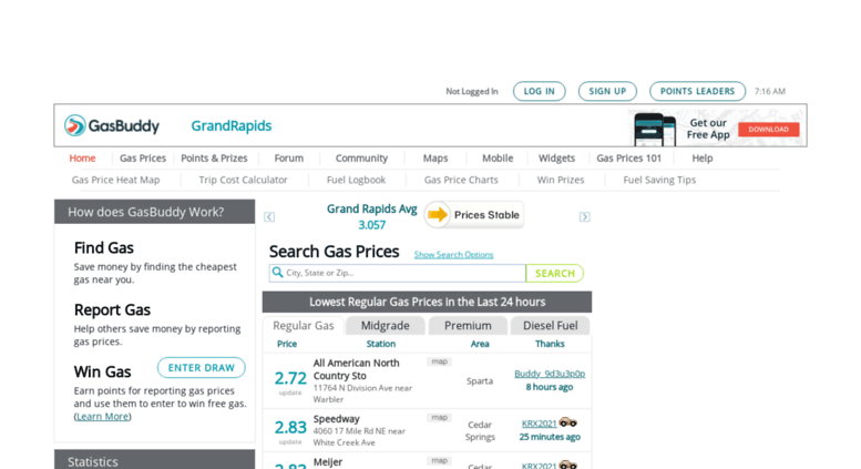 Grand Rapids Gas Prices >> Access Grandrapidsgasprices Com Grand Rapids Gas Prices