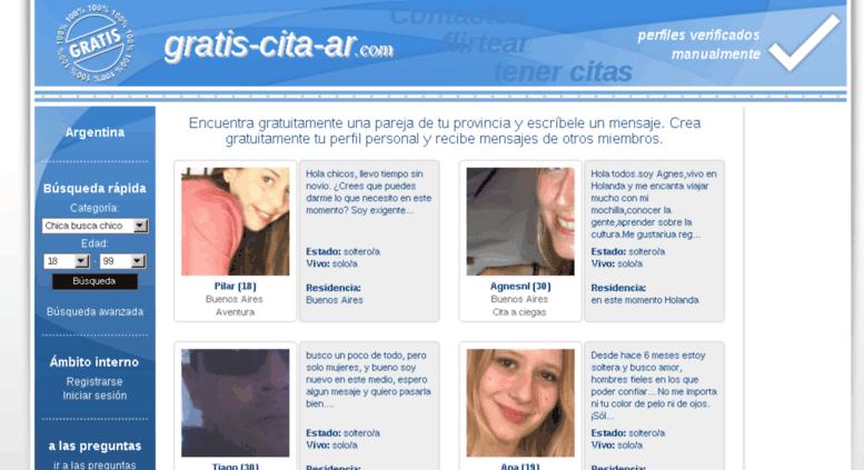 citas on line argentina gratis