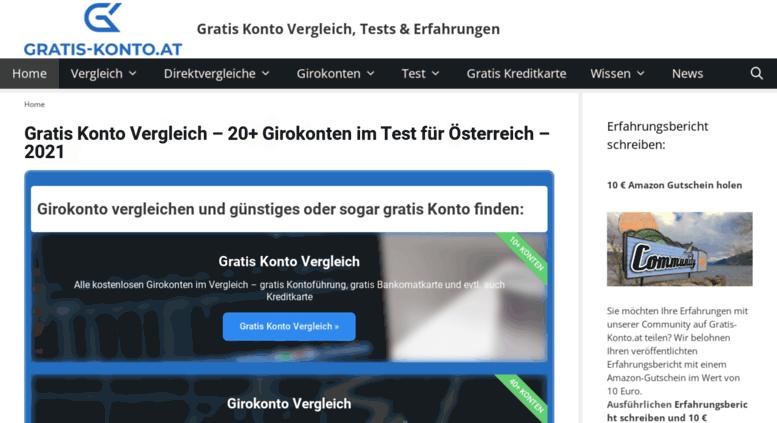 Access Gratis Kontoat Gratis Konto Vergleich österreich Stand
