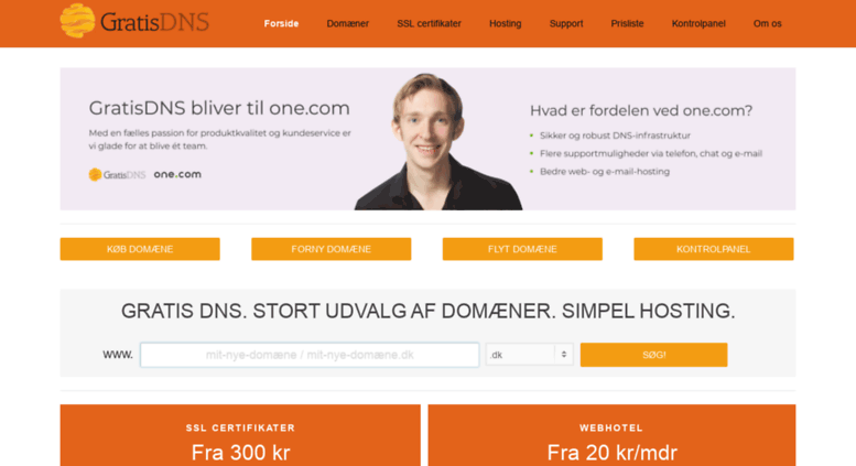 FreeDNS - Free DNS - Dynamic DNS - Static DNS subdomain and domain