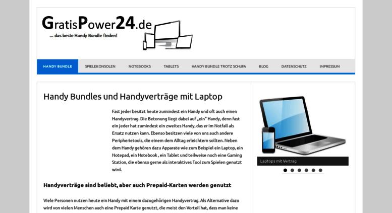 Laptop Mit Sim Karte.Access Gratispower24 De Handy Bundles Und Handyverträge Mit Laptop