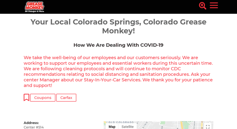 Oil Change Coupons Colorado Springs >> Access Greasemonkeycoloradosprings514 Com Colorado Springs