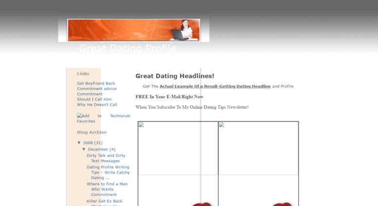 Great dating websites