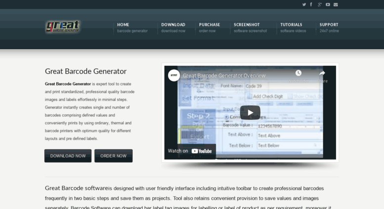 Download barcode generator