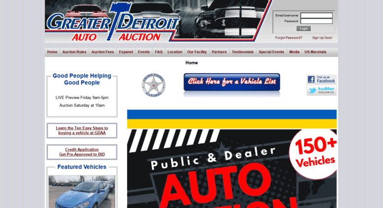 Greater Detroit Auto Auction >> Access Greaterdetroitaa Com Greater Detroit Auto Auction
