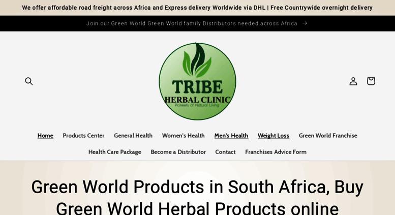 Access Greenworldproducts Co Za Buy Green World Green World