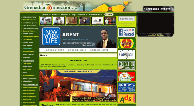 Access grenadianconnection com  GrenadianConnection com