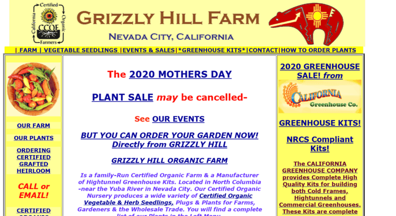 Access grizzlyhill com  GRIZZLY HILL HOME PAGE