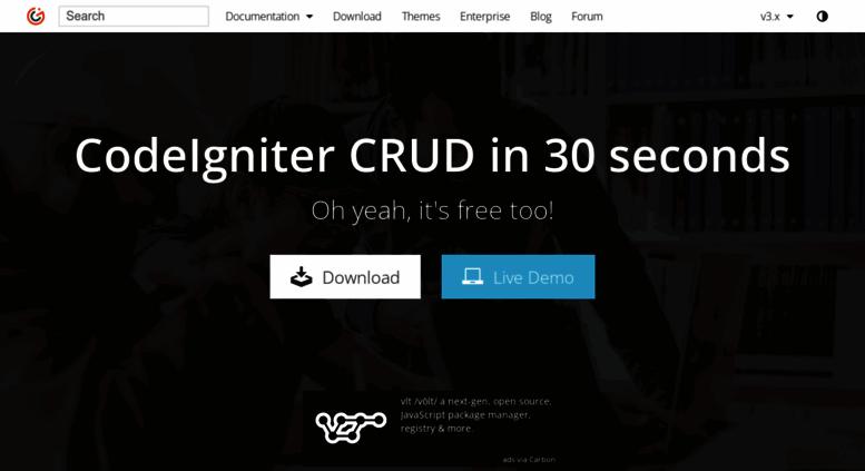 Access grocerycrud com  Grocery CRUD | Auto PHP Codeigniter CRUD