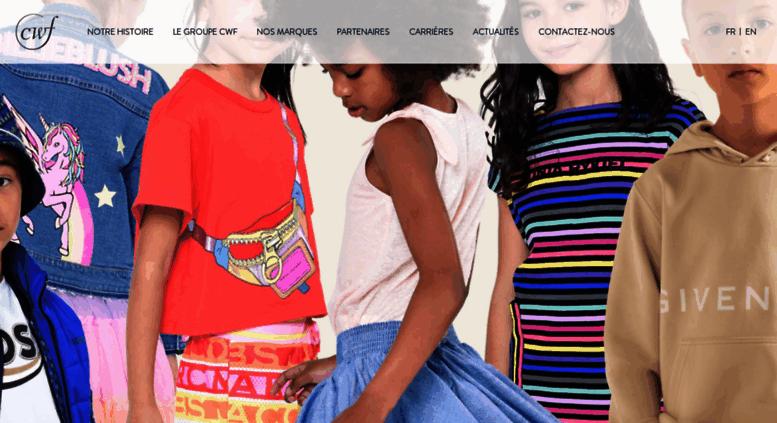 94e848b058839 Access groupecwf.com. .  Children Worldwide Fashion  .