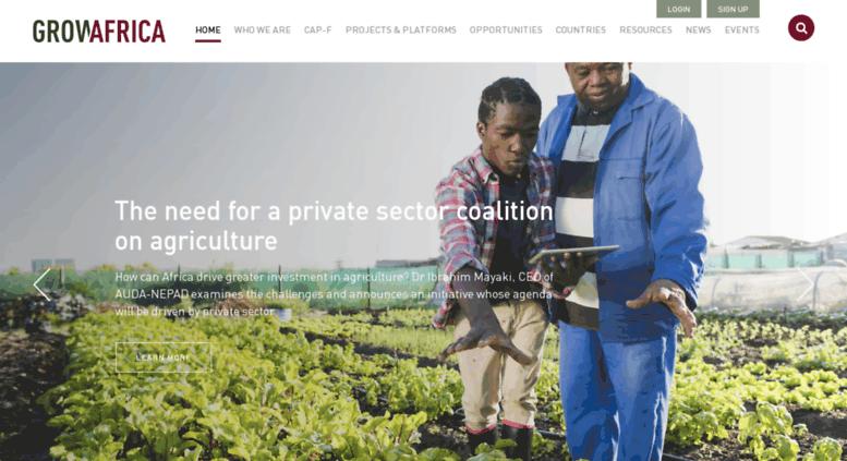 Access growafrica com  Grow Africa | Accelerating Agricultural