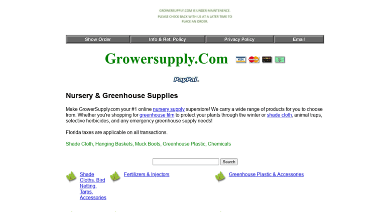 Growersupply Screenshot