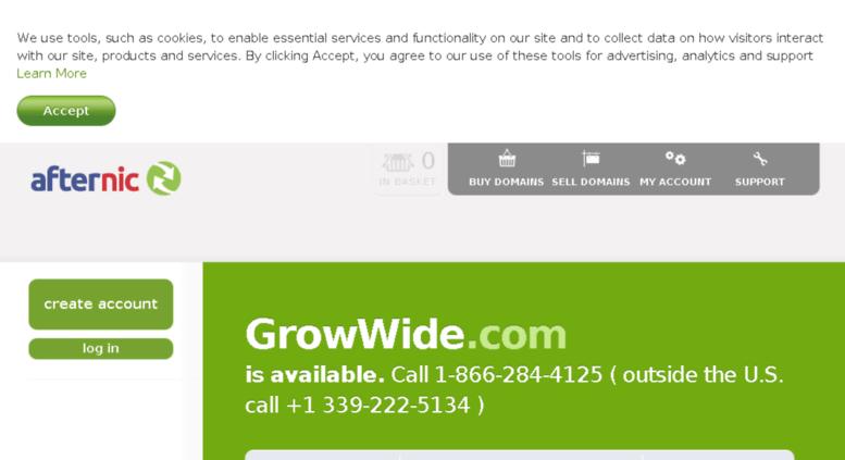 Access growwide com  Domain Auction | Buy & Sell Distinctive