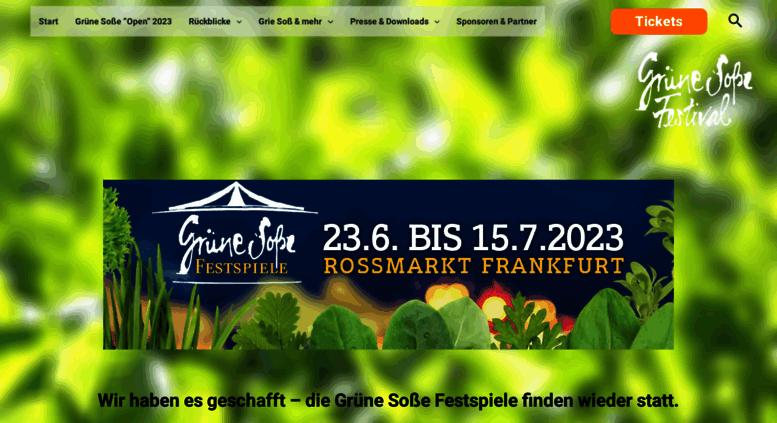 Access Gruene Sosse Festivalde Startseite Grüne Soße Festival