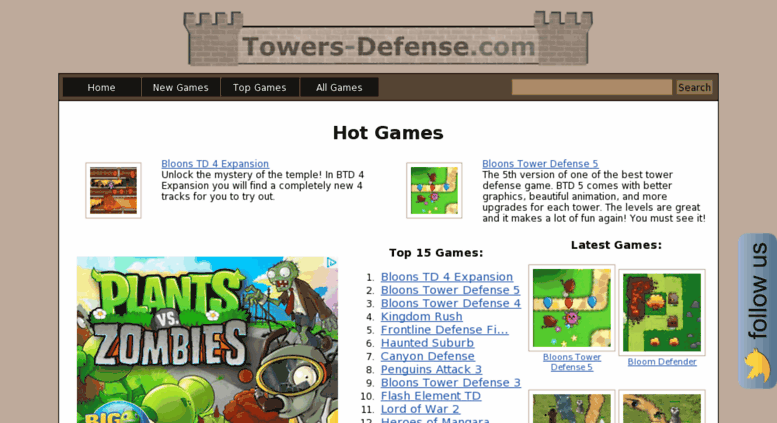 Access gry-online cc  Free tower defence games online
