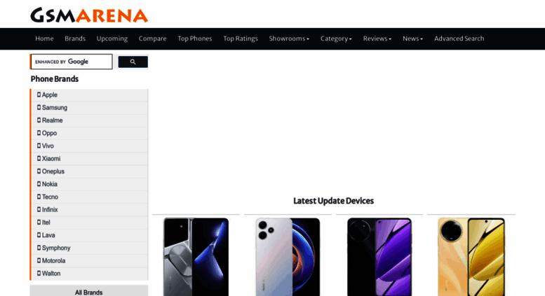 Access gsmarena com bd  Mobile Phone Price, Specs, News and