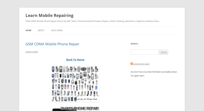 Access gsmrepair wordpress com  Learn Mobile Repairing | GSM CDMA
