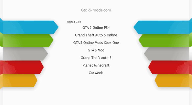 Grand Theft Auto Gta 5 Mods — ZwiftItaly