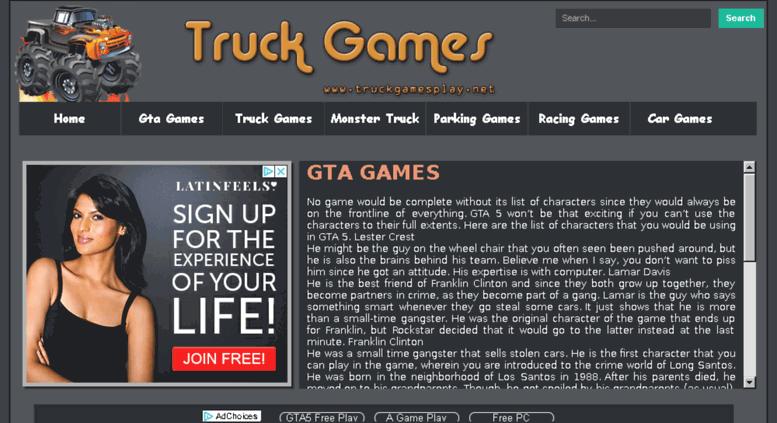 Access gtagames co  GTA GAMES | Play GTA San Andreas Online Game