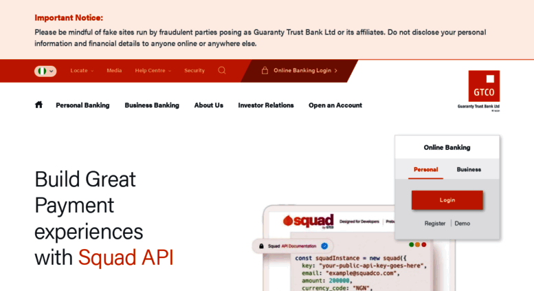 Access gtbank com  Guaranty Trust Bank | GTBank