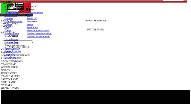 Access gtitalia org  GTItalia [Portal] - International SimRacing