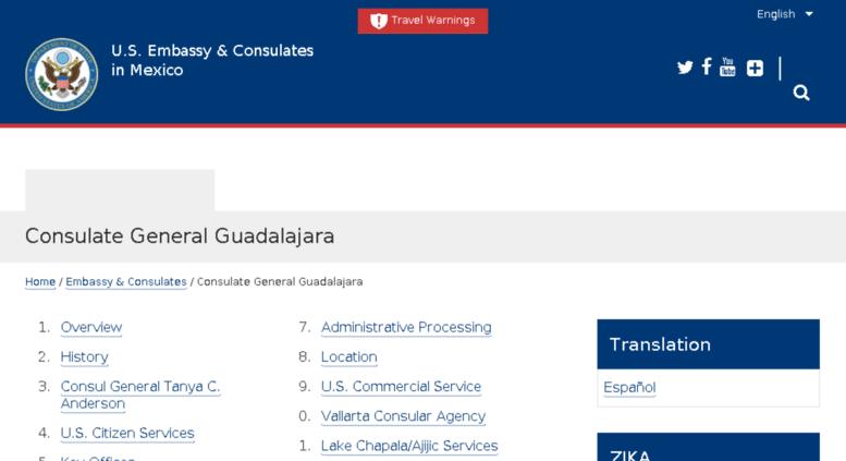 Access guadalajara usconsulate gov  Consulate General