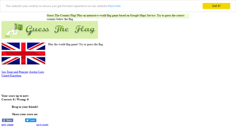 Access guesstheflag com  Flags of the world quiz  Great flag