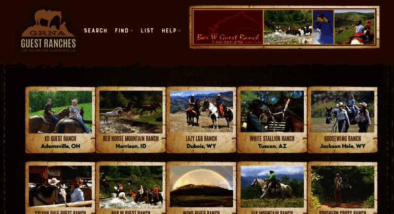 Access guestranches com  Dude Ranch Vacation Guest Ranches