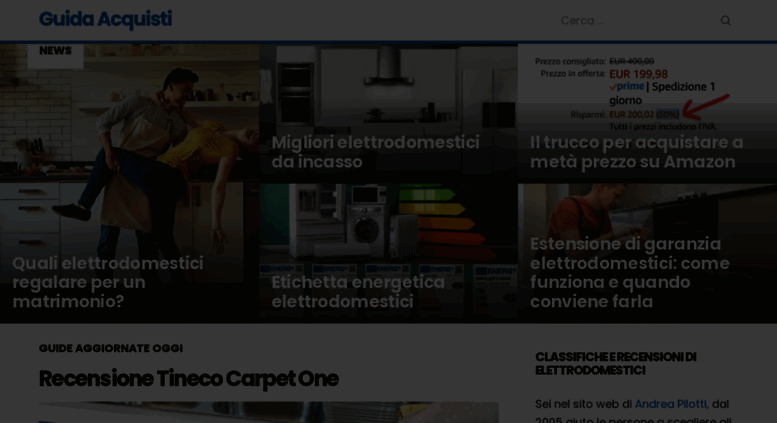 Access guidaacquisti.net. Guida Acquisti - Recensioni ...