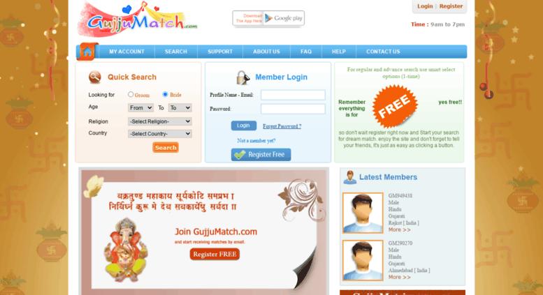 Access gujjumatch com  Free Gujarat Matrimony   Free Gujarat