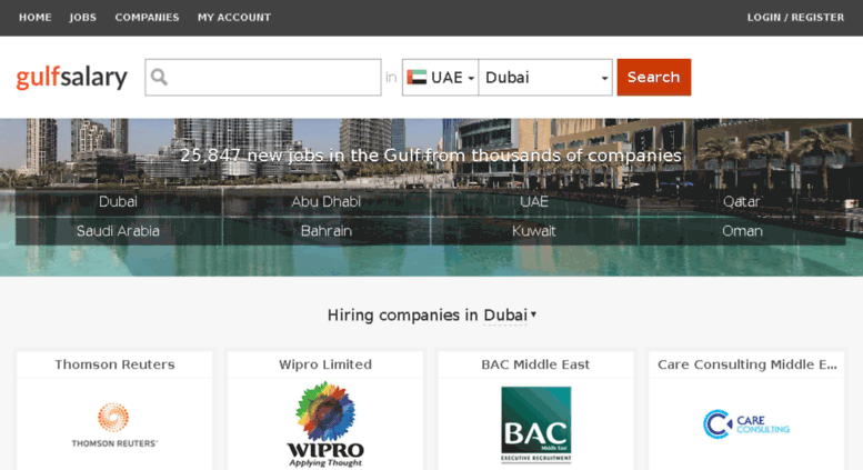 Access gulfemploy com  gulfsalary com - all jobs, salaries