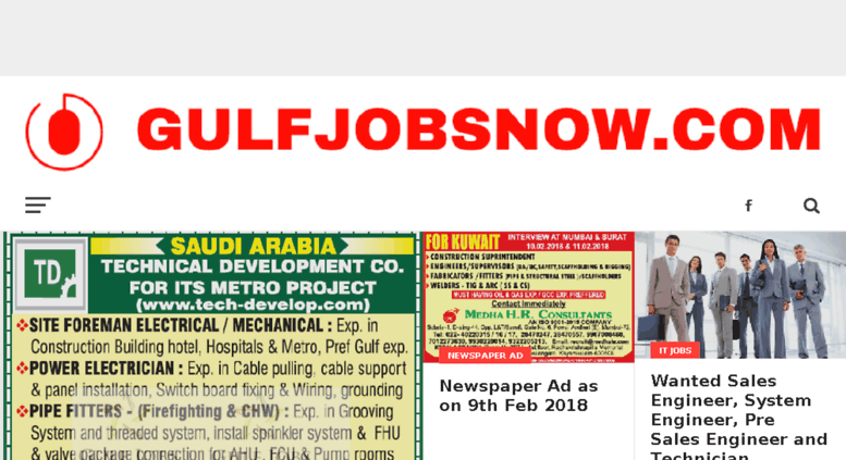 Access gulfjobsnow com  All Gulf Jobs - Kuwait, Dubai