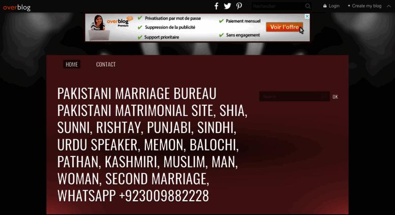 Access gulshanmarriage over-blog net  Marriage Bureau in Pakistan