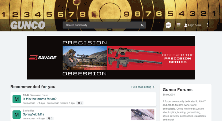 Access gunco net  Gunco net - AK-47/AR-15 Forums