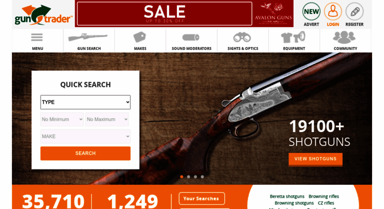 Access guntrader uk  Second Hand Guns | Used Shotguns | Rifles for