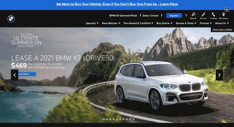 Duluth Car Dealerships >> Access Gwinnettbmw Com Bmw New Used Car Dealer Atlanta