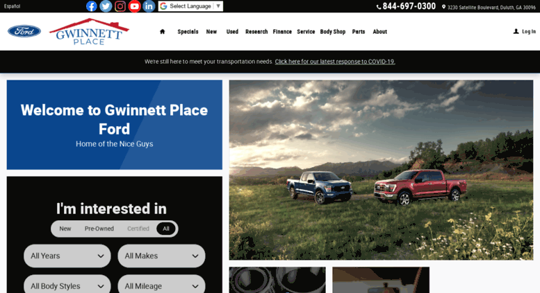 Ford Dealers In Ga >> Access Gwinnettplaceford Com New Used Cars Trucks Suvs