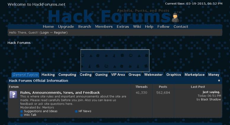 Access hackforums net  Hack Forums